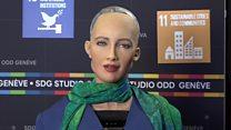 """""""Я учусь быть человеком"""": интервью самого современного робота"""