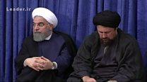 انتقاد آیت الله خمینی از عملکرد اقتصادی دولت در جلسه با سران سه قوه و مسئولان