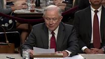Sessions: Collusion claim a 'detestable lie'