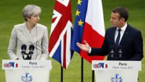 Macron: EU door still open to UK