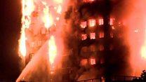 London: Cháy lớn ở nhà cao tầng