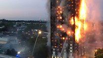 У Лондоні згорів Grenfell Tower
