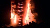 لندن: حريق هائل يلتهم برجا مكونا من 27 طابقا