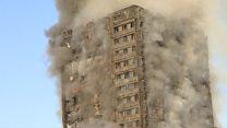 """""""غالبية سكان المبنى المحترق من العرب"""""""