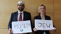 Rabbi and Imam unite in memory of the late Jo Cox MP
