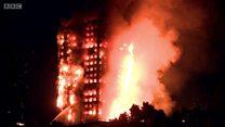 Hỏa hoạn lớn ở tòa chung cư cao tầng tại London
