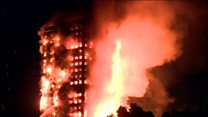 လန်ဒန်က ထပ်မြင့်အဆောက်အအုံ မီးလောင်