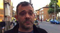 London fire: 'It was like a horror movie'