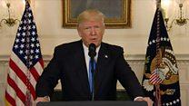 Trump condemns 'brutal' baseball shooting