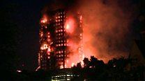 ТВ-новости: пожар на западе Лондона
