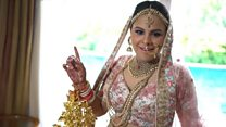 """Как в Индии ломают стереотип о """"застенчивых невестах"""""""