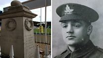 Remembering Saints player killed in war