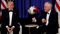 Turnbull: Trump mockery 'affectionate'