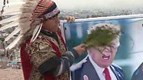Peru shamans in US-N Korea peace ritual