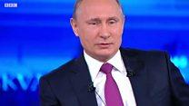 Неудобные вопросы Путину по sms