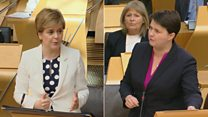 FM's 'One-trick pony' jibe over indyref2