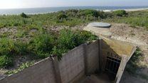 Movimento de areia revela 'vila' nazista subterrânea escondida sob praia holandesa
