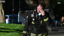 Grenfell Tower: Praise for 'heroic' firefighters
