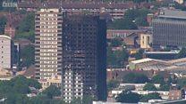 Пожар в Лондоне: день спустя