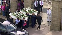 Manchester bombing couple laid to rest