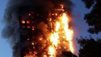 လန်ဒန်မီးလောင်မှု ကျွမ်းကျင်သူတွေ စုံစမ်းလေ့လာ