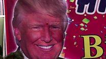 ترامب يحتفل بعيد ميلاده الأول في البيت الأبيض
