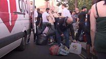 Как Британия собирает помощь пострадавшим от пожара