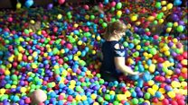 Adult Ball Pit opens in Bristol