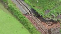 The day the railway was washed away