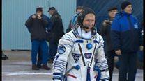 British astronaut capsule on show