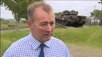 Tank incident awful for everybody, says Simon Hart