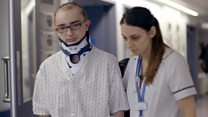 Inside hospital after terror attack