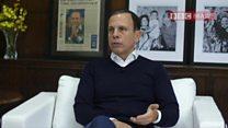 Eleitores do PT são mal informados ou defensores de mazelas, diz Doria