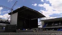 Portman Road transformed for Elton gig