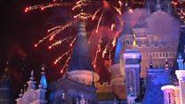 جشن یکسالگی دیزنی لند در چین