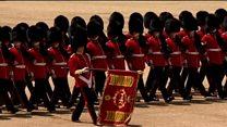 Военный парад в честь Дня рождения королевы
