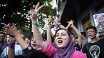 د سترګو لیدلی حال: هغه شپه چې ایران کې ولسمشریزې ټاکنې وې