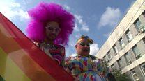 """Гей-парад в Киеве: """"Мы хотим свободно любить"""""""