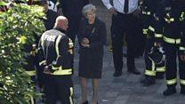 'رفتار ترزا می پس از آتش سوزی لندن،  فاجعه بود'