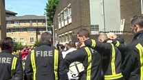 Minute's silence for Grenfell victims