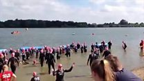 Hundreds take part in Great East Swim
