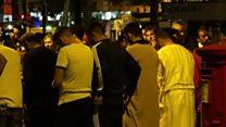 لندن میں مسجد کے باہر 'دہشت گردی'