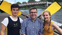 "#Londonблог в Кембридже: лодочная гонка ""ударил –победил"""