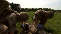 Medical reservists take-on battlefield training
