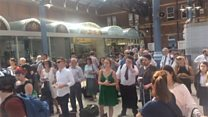 Hot weather causes rail delays