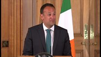 Irish PM loves 'actually' being in No 10