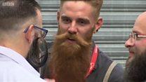 Борода, как символ хипстера