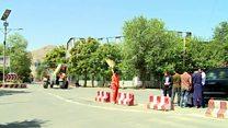کابل کې د لاريون کوونکو خېمې لرې کړل شوې