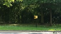 Drivers slowed with fake speed camera