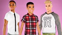 All dolled up: Ken gets a makeover